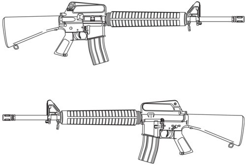 One Line Art Gun : Hartsguns images uploads new web page gun art